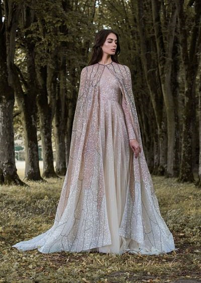 Gown Shopping We List Down A Few Standout Capes From The Bridal Runways To Give You Some Inspiration So Lets Have Moment Of Cape Spiration While